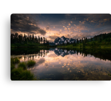 Picture Lake Awakening Canvas Print