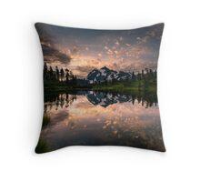 Picture Lake Awakening Throw Pillow