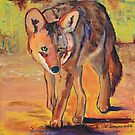 Coyote Hunting by Pat Saunders-White