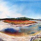 Encampment Cove, Maria Island by melhillswildart
