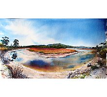 Encampment Cove, Maria Island Photographic Print