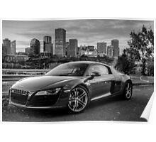 R8 in City Lights Poster