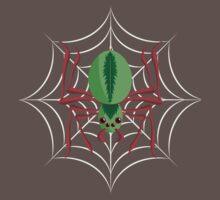 Green Spider Tee Baby Tee