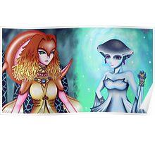 Queen Rutela and Princess Ruto Poster