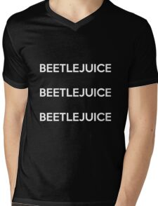 BEETLEJUICE! Mens V-Neck T-Shirt