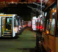 Muni Yard San Francisco by David Denny