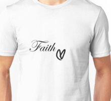 Faith Heart Unisex T-Shirt