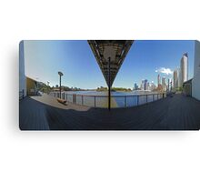 Panorama | Howard Smith Wharves Canvas Print