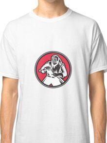 Sandblaster Sandblasting Circle Retro Classic T-Shirt