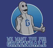 We want you for Greendale by jasesa