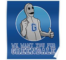 We want you for Greendale Poster