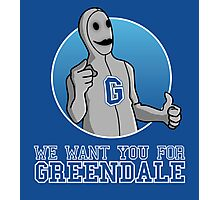 We want you for Greendale Photographic Print