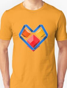Love Cubes Blue T-Shirt