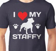 I LOVE MY STAFFY Unisex T-Shirt