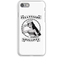 Hula Hooping Saves Lives! iPhone Case/Skin