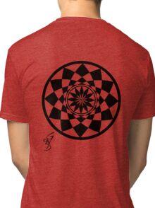 Geometric Flower Tri-blend T-Shirt