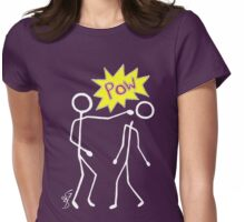POW invert Womens Fitted T-Shirt