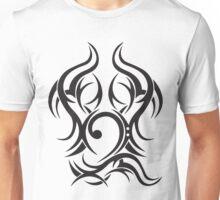 Tribal Bass Clef Unisex T-Shirt