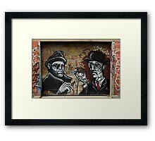 Street Art: global edition # 99 Framed Print
