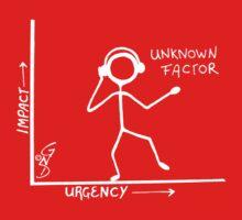 The Unknown Factor invert Kids Tee