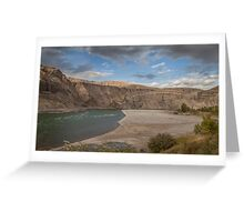 Bow River - Canada Greeting Card