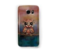 little rainbow flower owl Samsung Galaxy Case/Skin