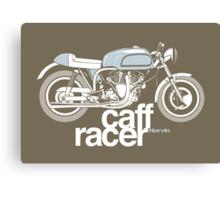 Norvin Caff Racer Canvas Print