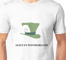Alice in Wonderland minimalist  Unisex T-Shirt