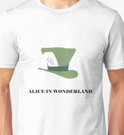 Alice in Wonderland minimalist  Unisex T-Shirt