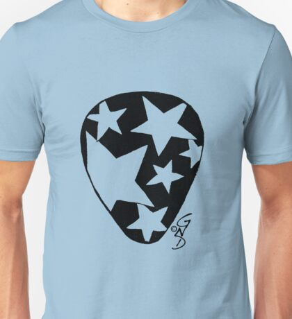 Plectrum 1 black see through Unisex T-Shirt