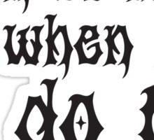 Listen To Metal Sticker