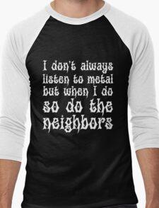 Listen To Metal Men's Baseball ¾ T-Shirt