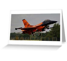 Dutch F16 Greeting Card