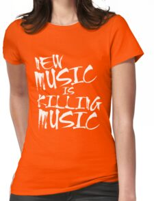 New Music Womens Fitted T-Shirt