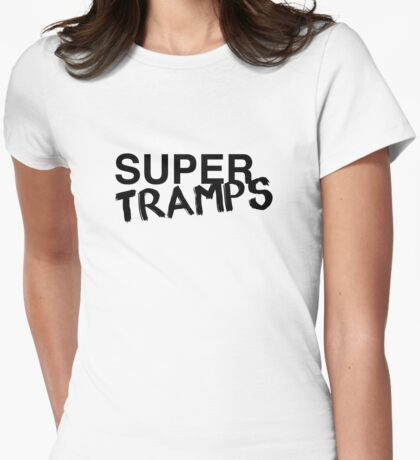 Super Tramps Womens Fitted T-Shirt