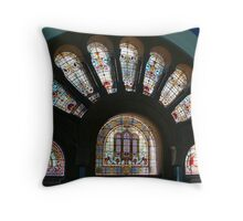 Some grand glass work Throw Pillow