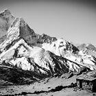 Himalayan Mountain Hut by Nicholas Averre