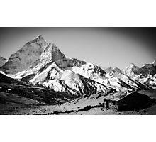 Himalayan Mountain Hut Photographic Print