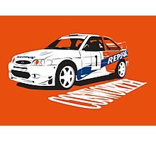 Ford Escort Cosworth WRC Photographic Print