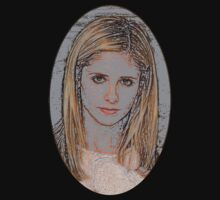 Buffy the Vampire Slayer - Pencil Cameo by Marjuned