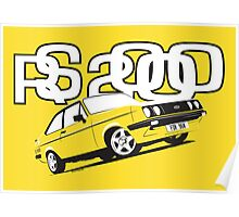 Ford RS2000 Mk2 Poster