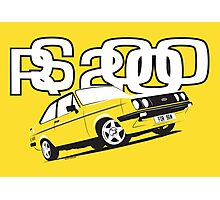 Ford RS2000 Mk2 Photographic Print