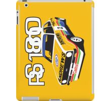Ford Escort Mk2 Rally Car iPad Case/Skin