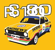 Ford Escort Mk2 Rally Car by velocitygallery