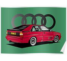 Audi Ur-Quattro Poster