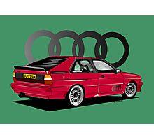 Audi Ur-Quattro Photographic Print