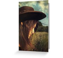 Even Cowgirls Get the Blues Greeting Card