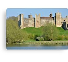Framlingham Castle Suffolk Canvas Print