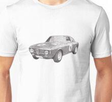 Alfa Romeo GT 1300 junior   Unisex T-Shirt