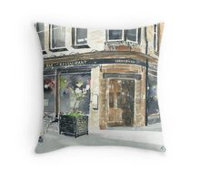 Abbotsford Bar and Restaurant Throw Pillow